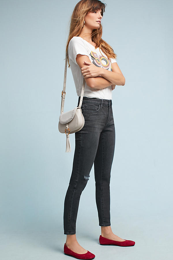 Pilcro Mid-Rise Skinny Jeans
