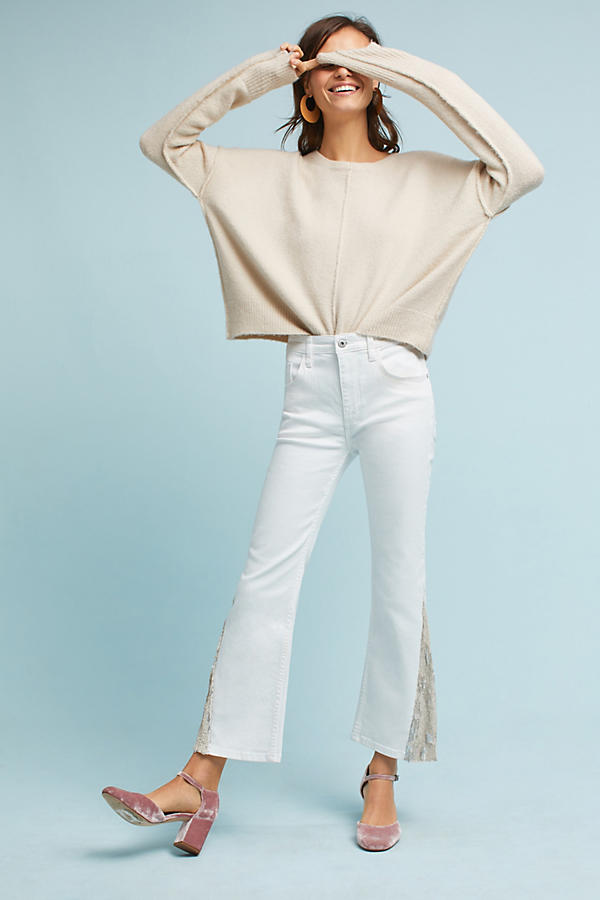 Pilcro High-Rise Flared Jeans