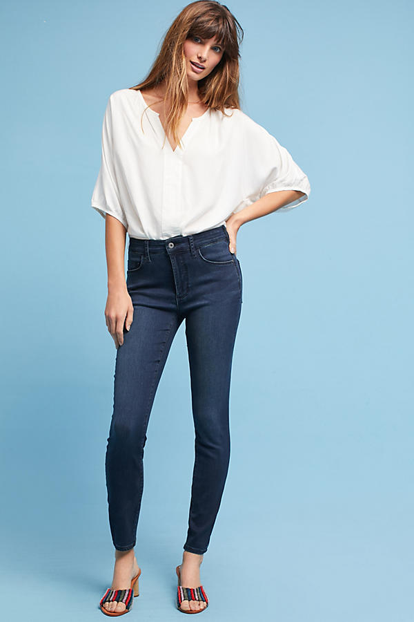 Pilcro High-Rise Skinny Ankle Jeans
