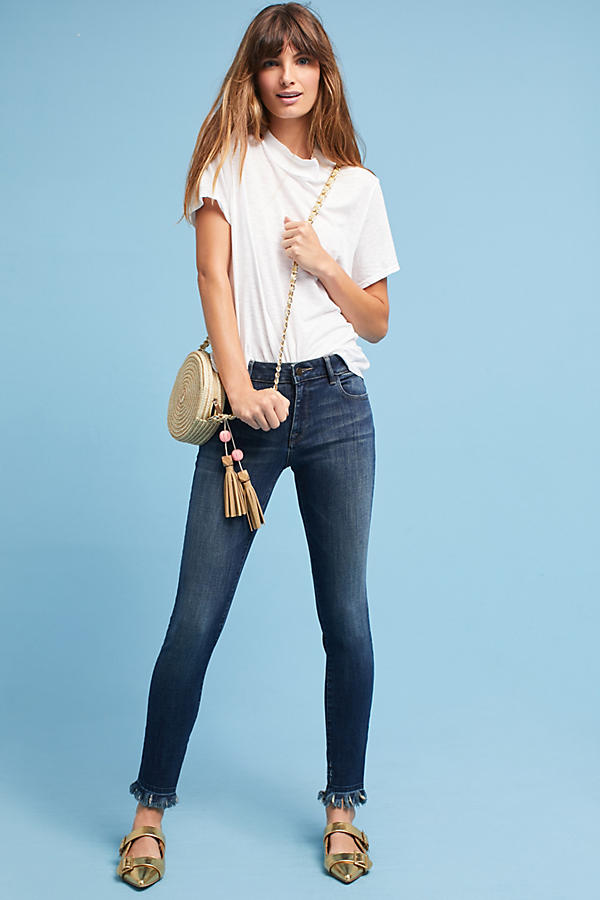 DL1961 Margaux Instasculpt Mid-Rise Skinny Cropped Jeans