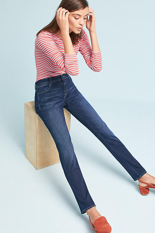 DL1961 Coco Curvy Mid-Rise Straight Jeans