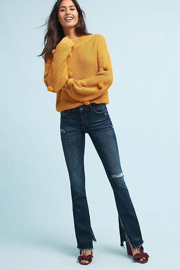 DL1961 Bridget Instasculpt Mid-Rise Bootcut Jeans