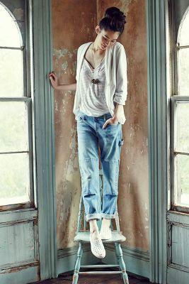 Pilcro Hyphen Carpenter Jeans