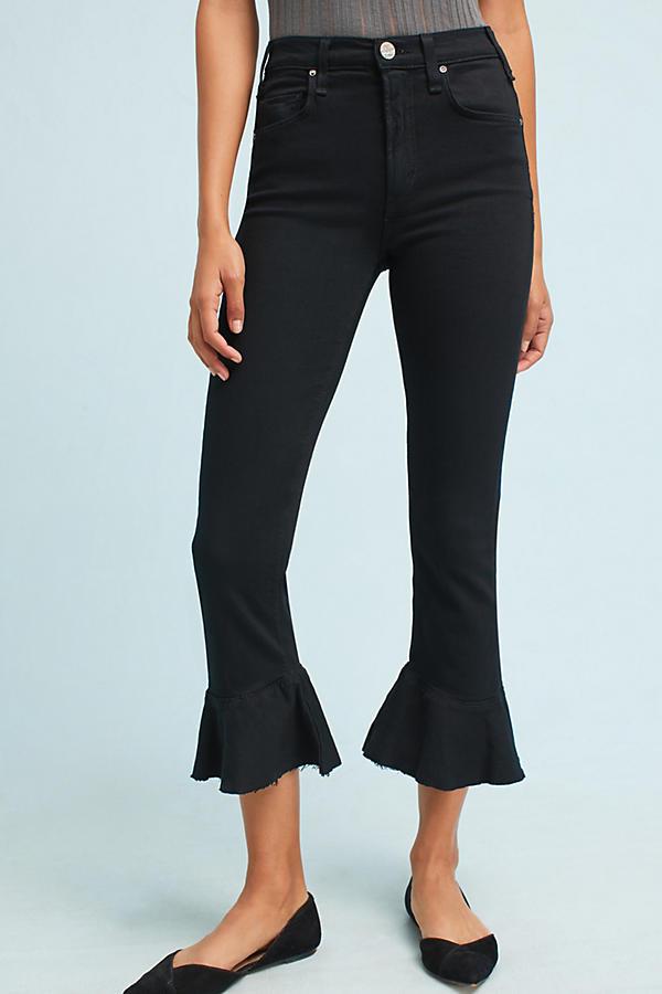 McGuire Bohemia Mid-Rise Flounced Jeans