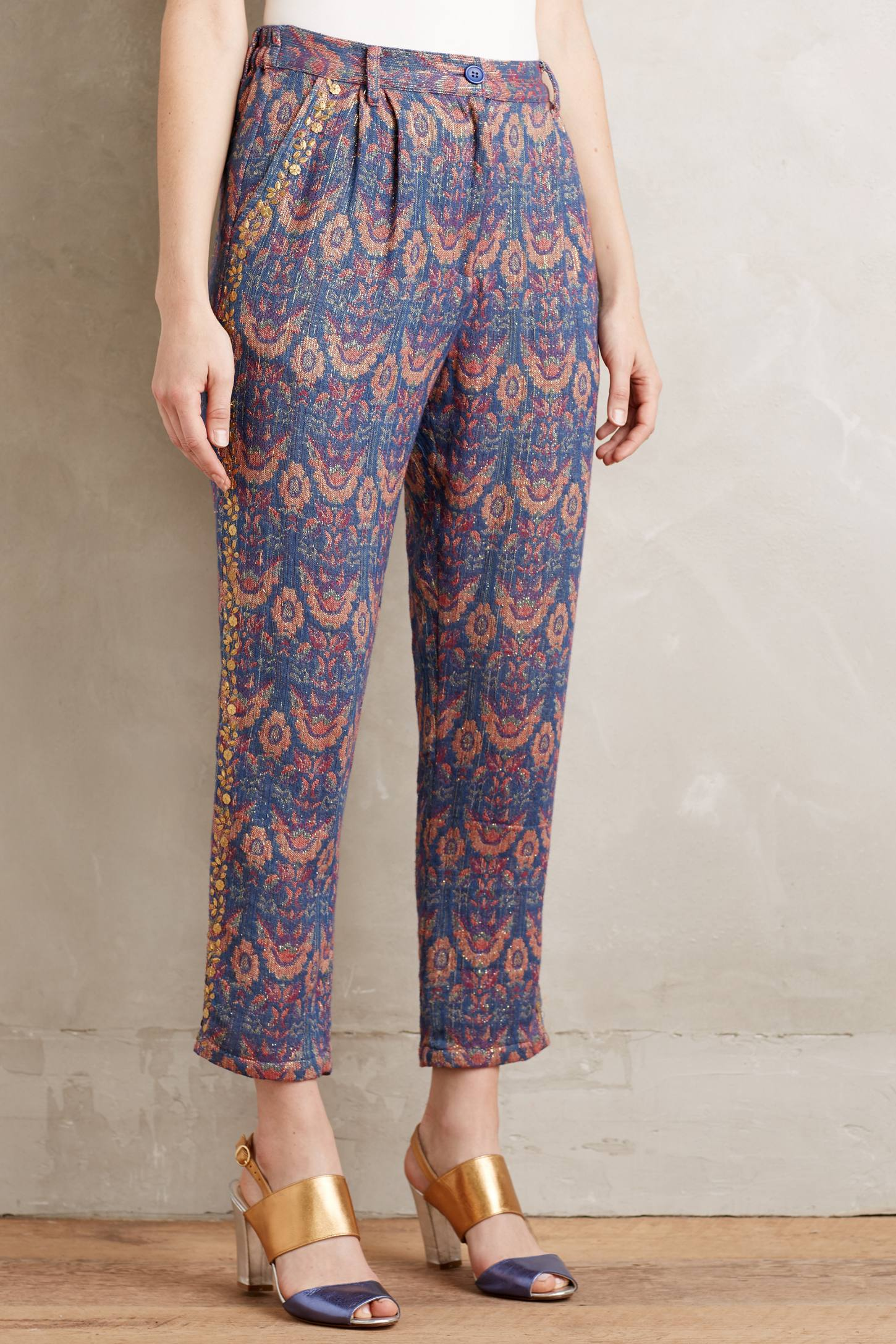Boteh Jacquard Trousers