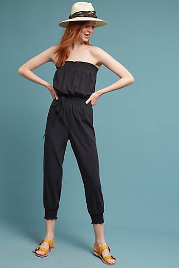 Tracy Reese Strapless Jumpsuit