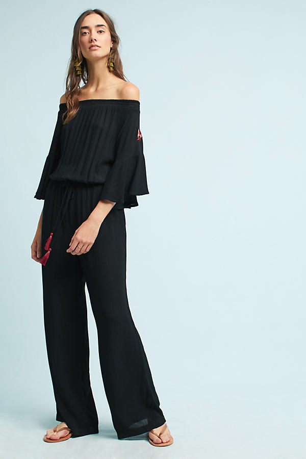 Lala Off-The-Shoulder Jumpsuit