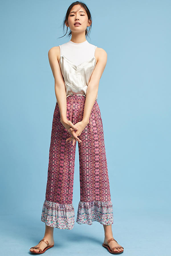 Billie Frilled Trousers