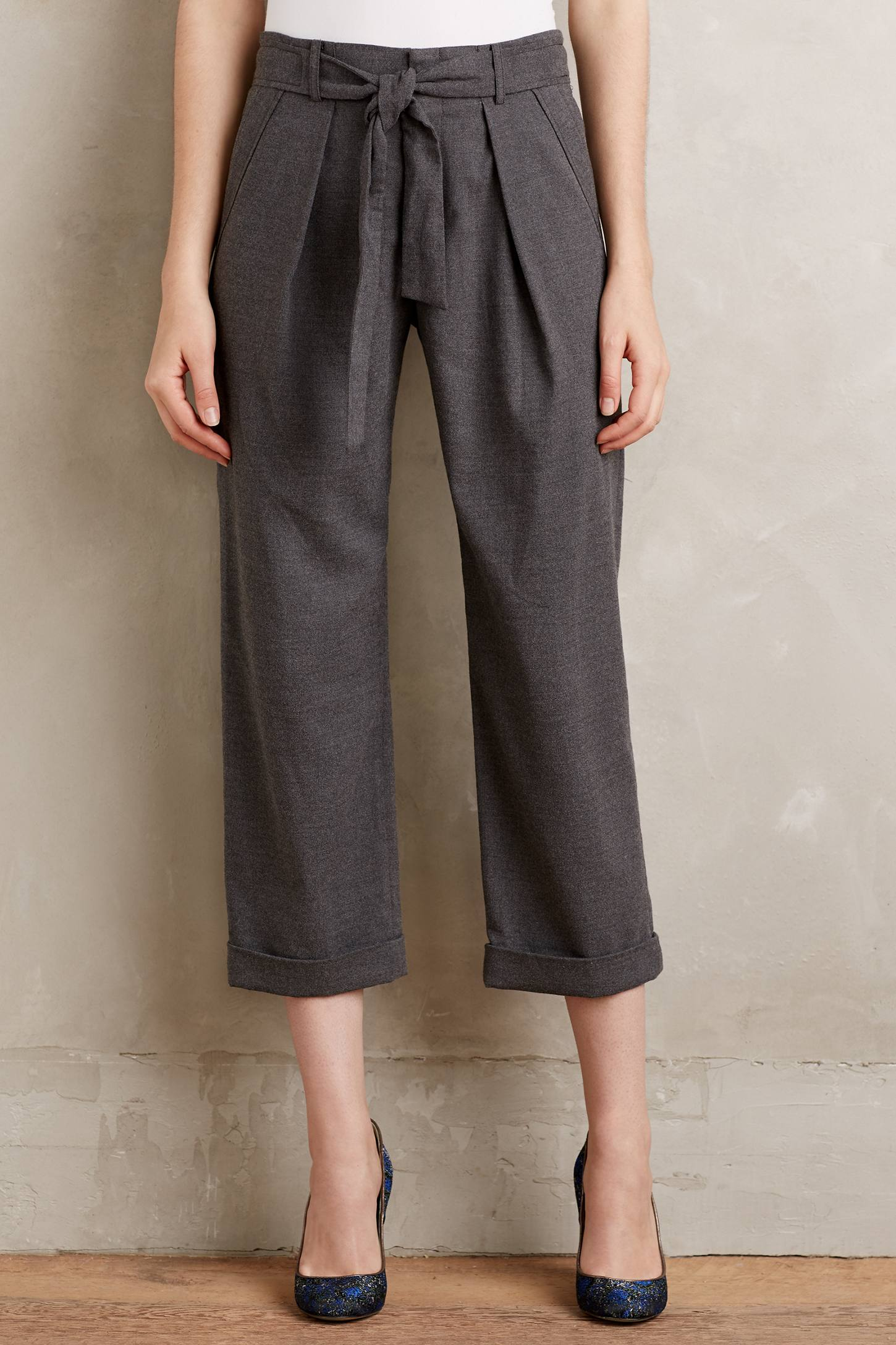 Belted Barton Trousers