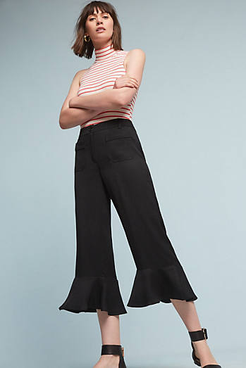 Morena Ruffled Trousers