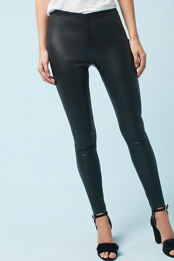 Stirrup Leather Leggings