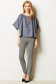 Crosshatched Charlie Trousers