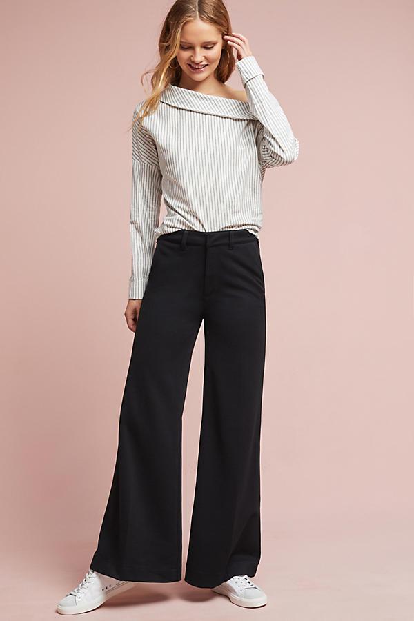 Knit Wide-Legs