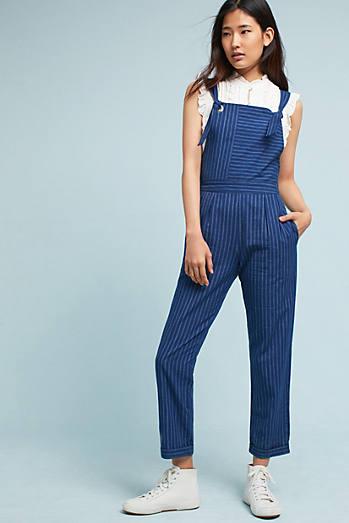 Alisha Striped Jumpsuit