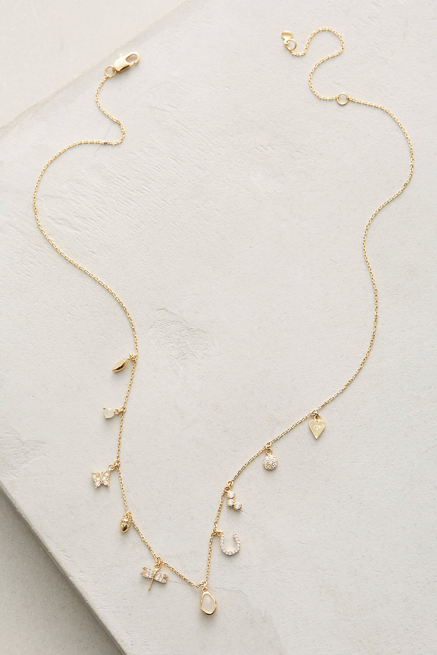 Key & Cosmos Charm Necklace