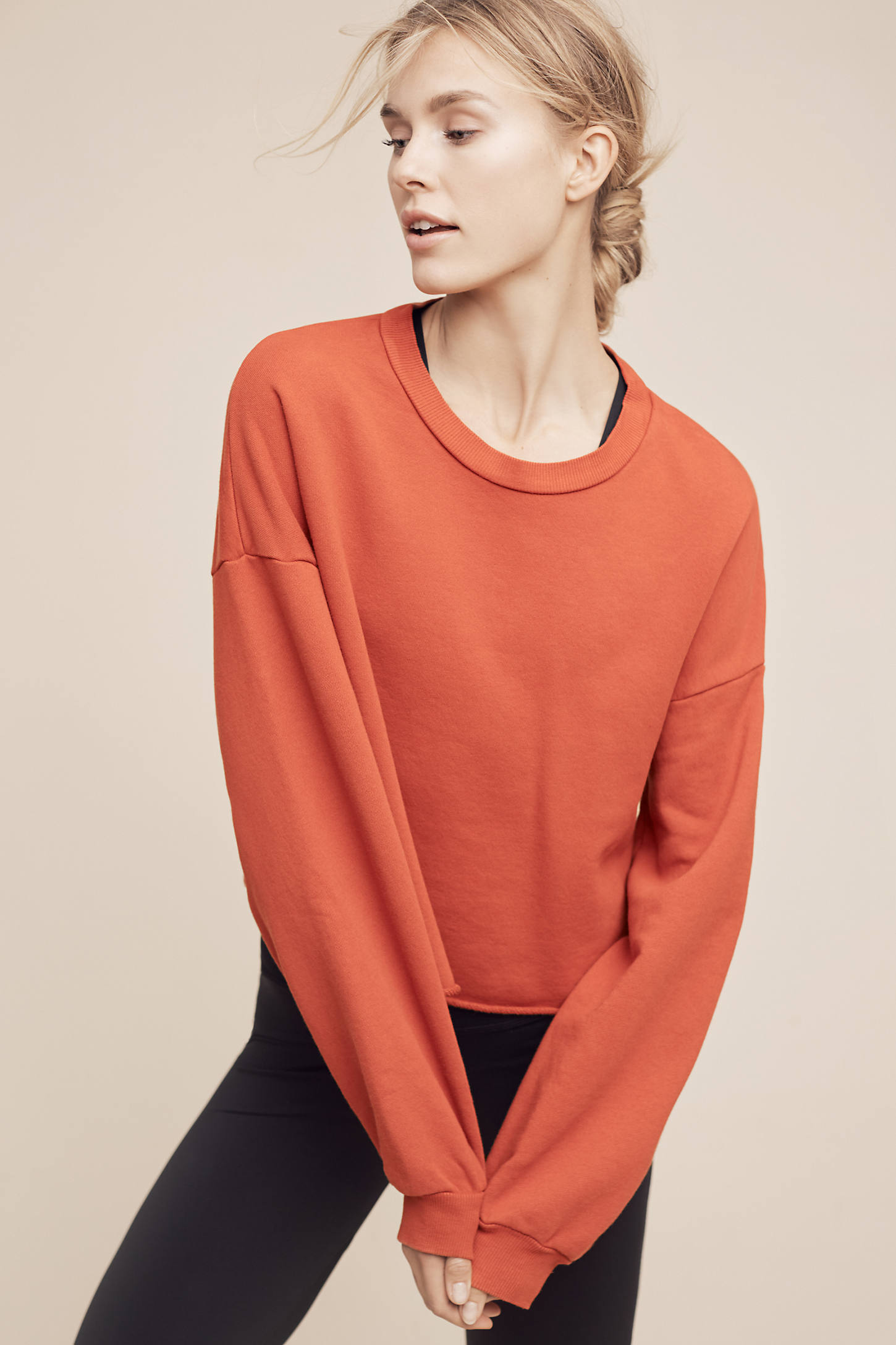 Sidonia Cropped Pullover