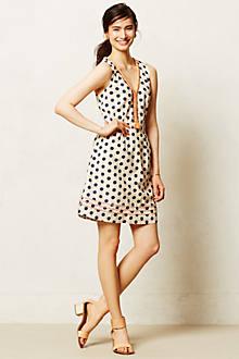 Pois Flared Dress