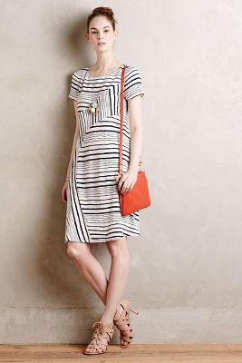 Stripestack Shift Dress