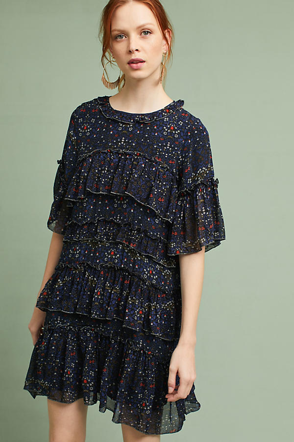 Lulu Ruffled Swing Dress