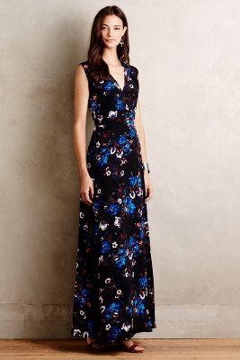 Arcadia Silk Maxi Dress
