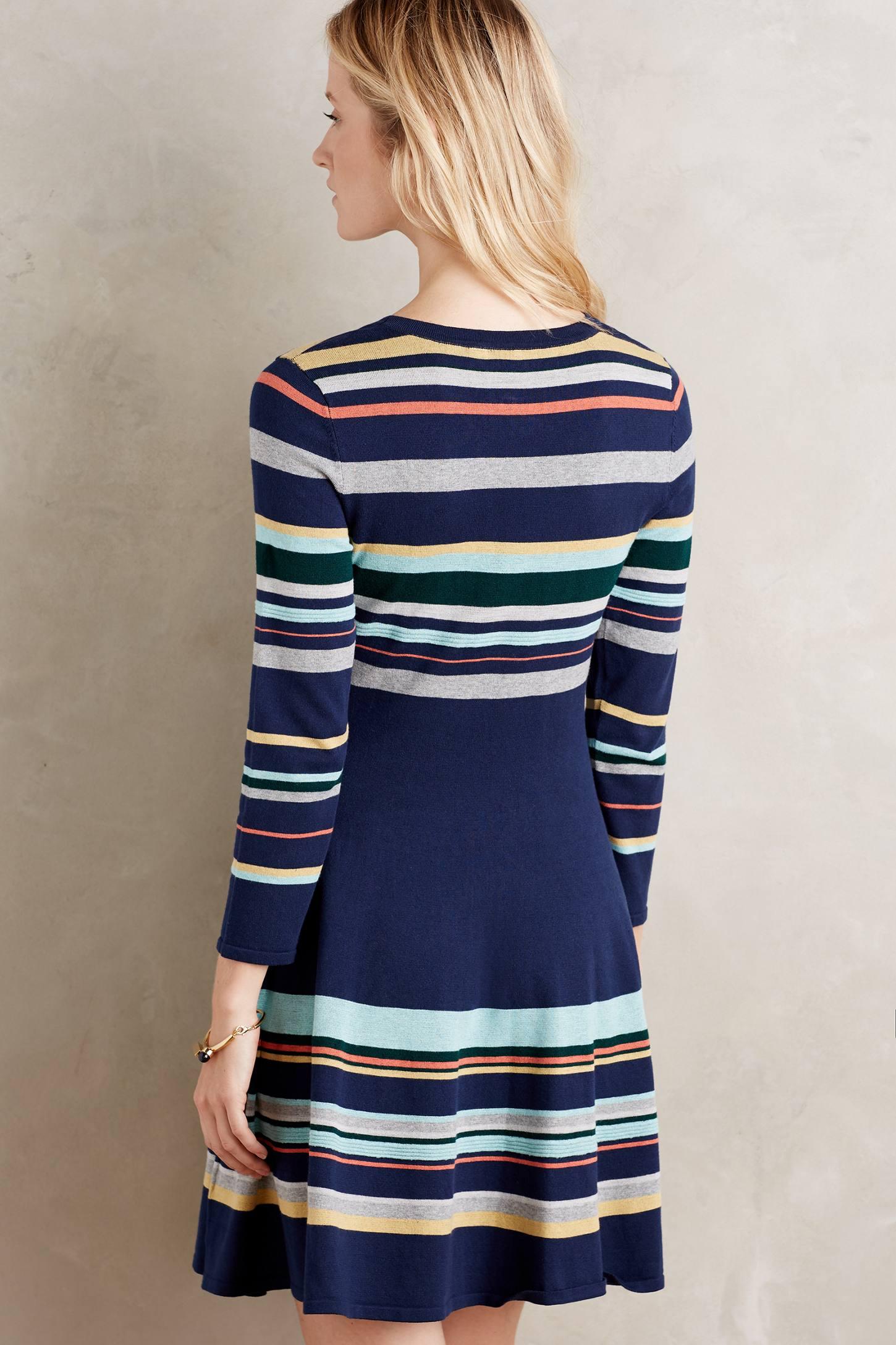 Scooped Sweaterdress