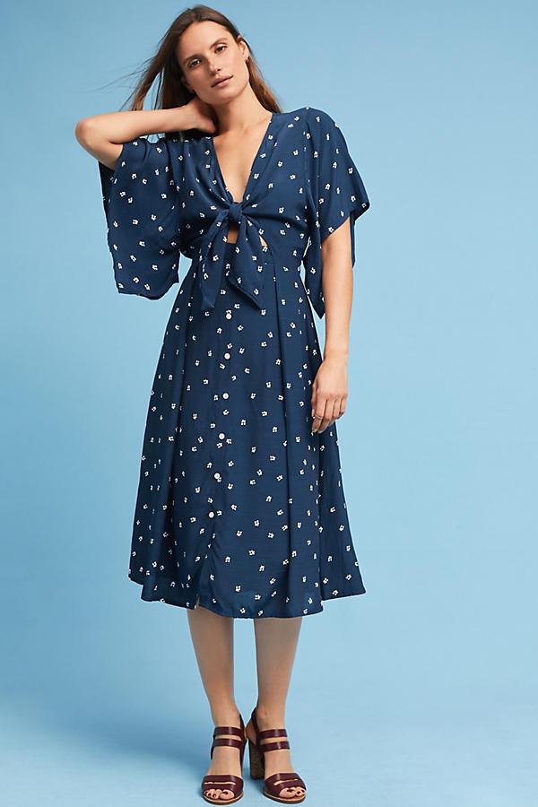 Farrah Tie-Front Dress
