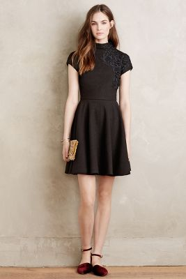 Codetta Mockneck Dress
