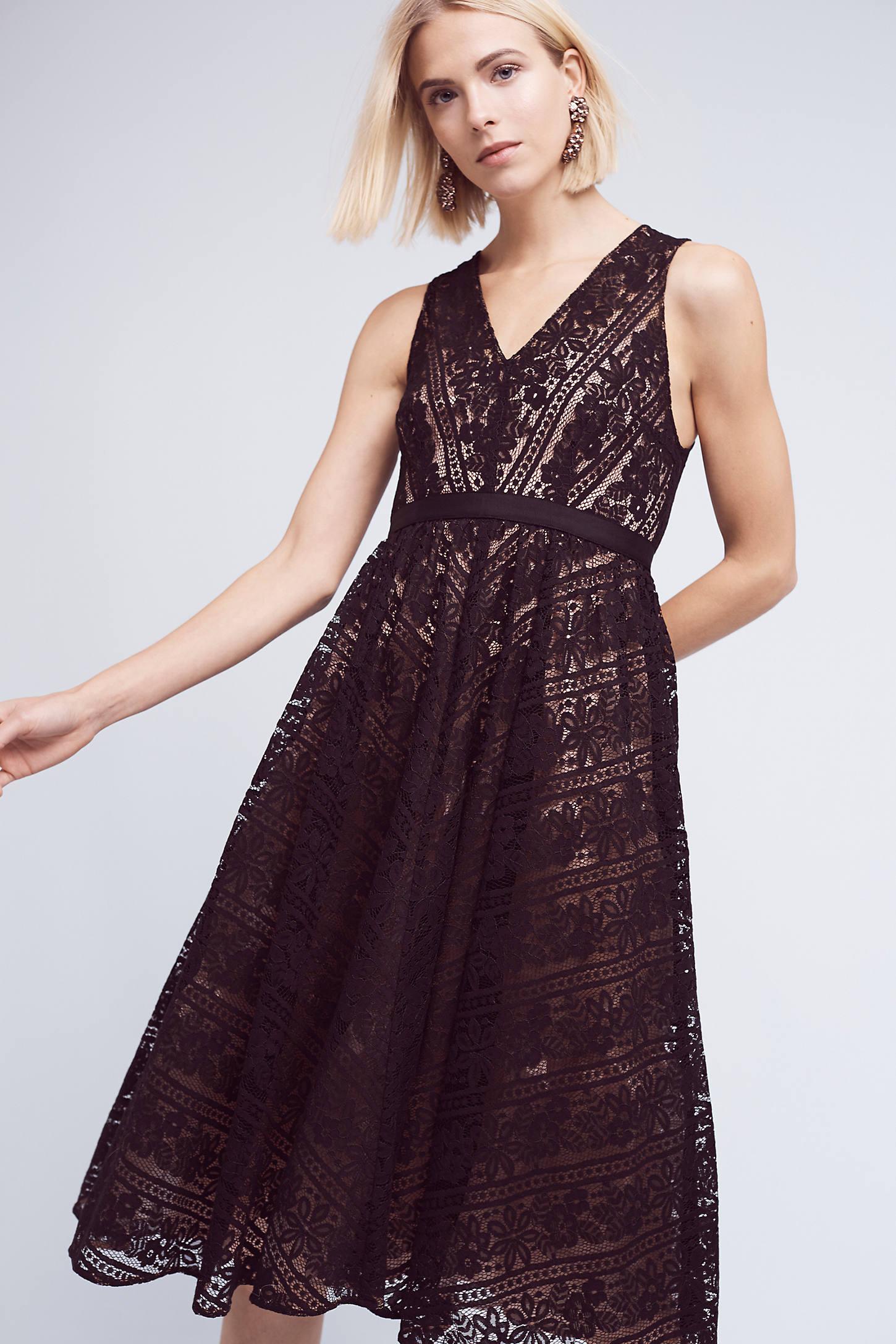 Middleton Lace Dress, Black