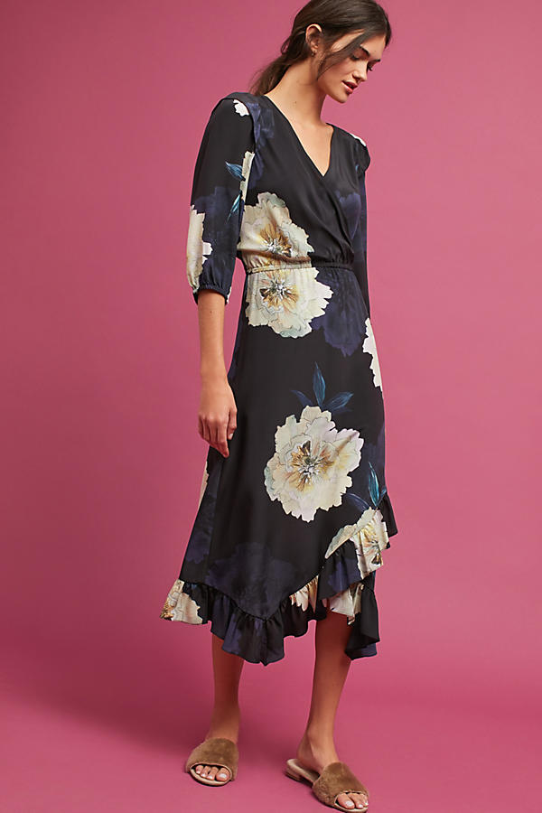 Tracy Reese Ruffled Silk Dress