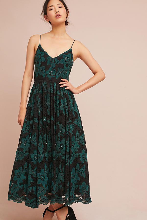 Tracy Reese Lace Midi Dress