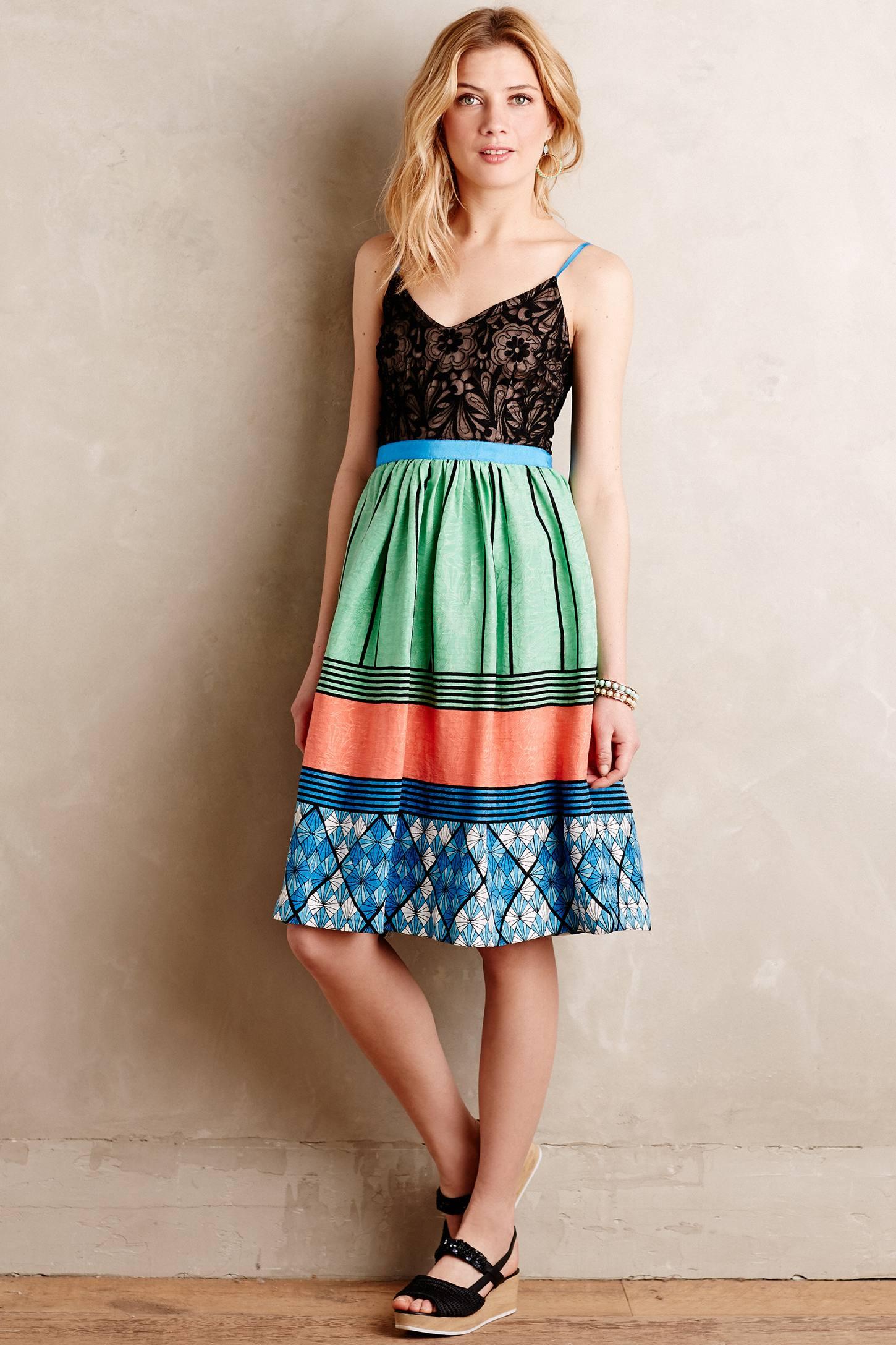 Fractal Flora Petite Dress