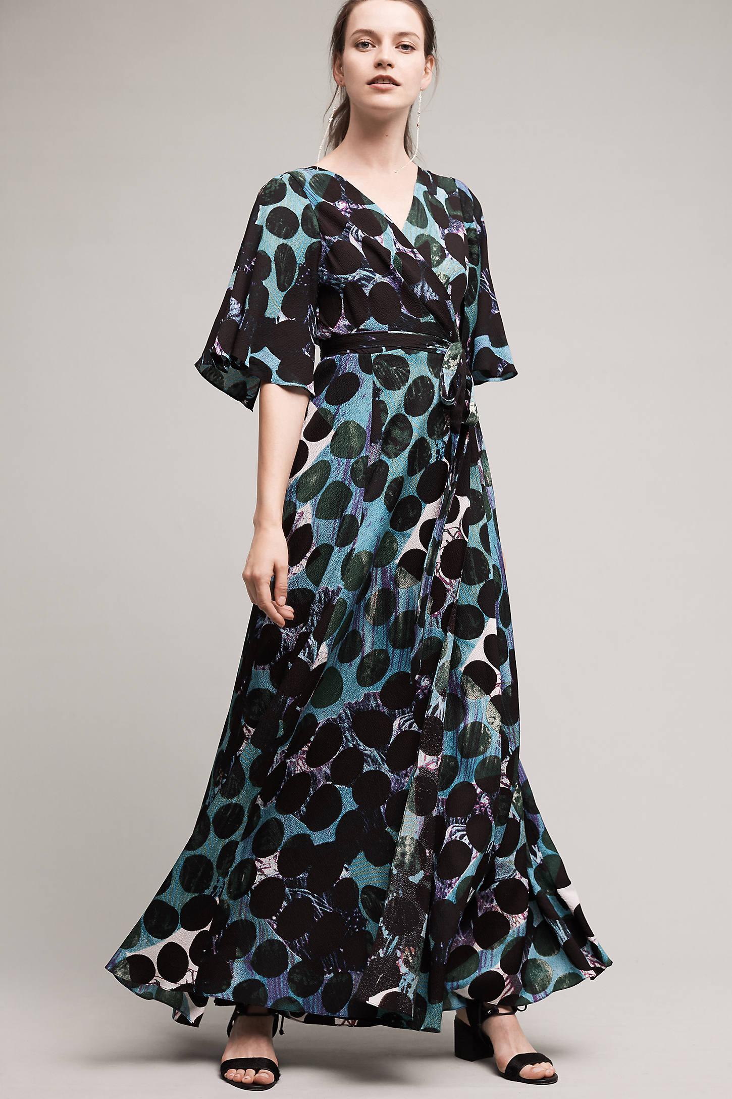 Mirei Silk Maxi Dress