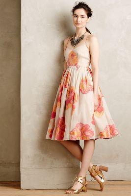 Blazing Hibiscus Dress