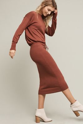 Katya Sweater Maxi Dress