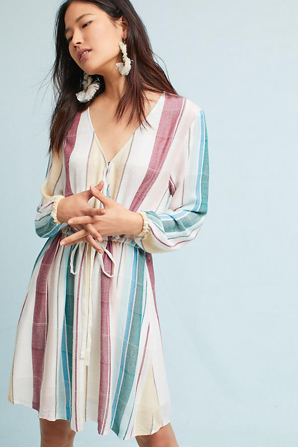 Rails Yarn-Dyed Tunic Dress