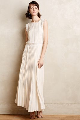 Icepleat Maxi Dress