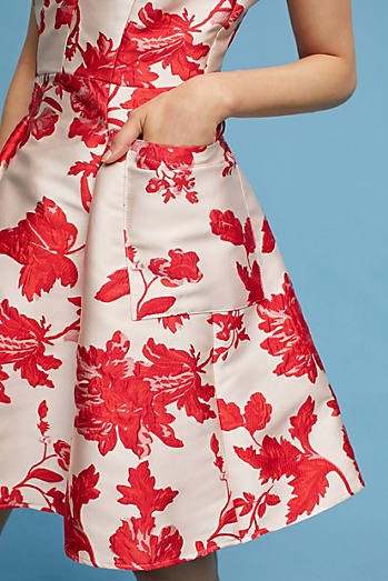 Rose Relief Dress