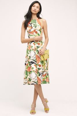 Pineapple Halter Dress