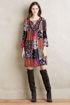 Arcata Patchwork Dress
