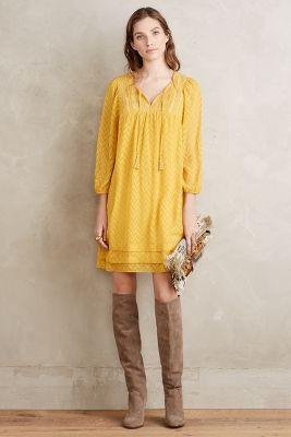 Anwen Peasant Dress
