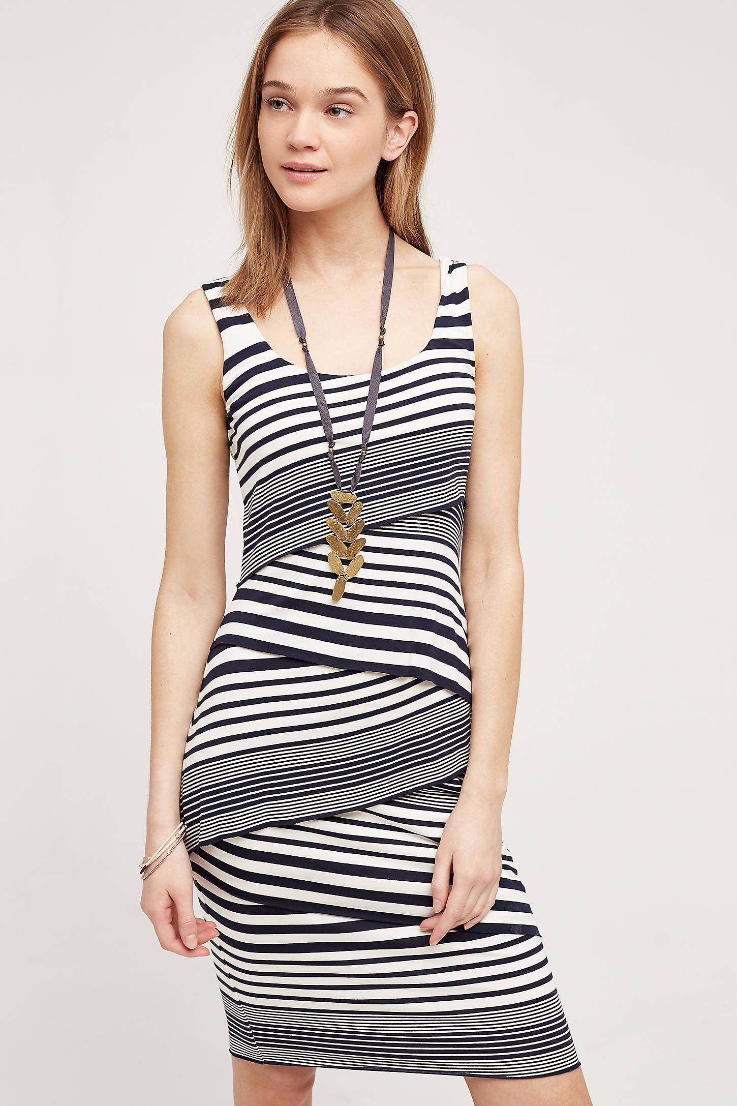 Zig Stripe Dress