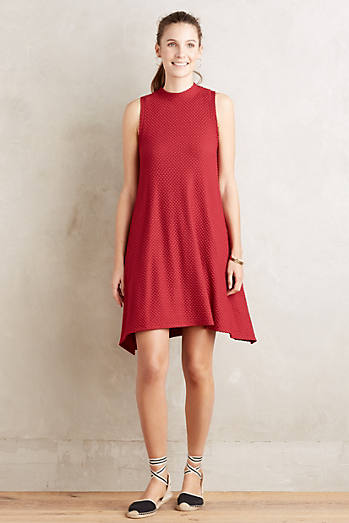 Cerise Swing Dress