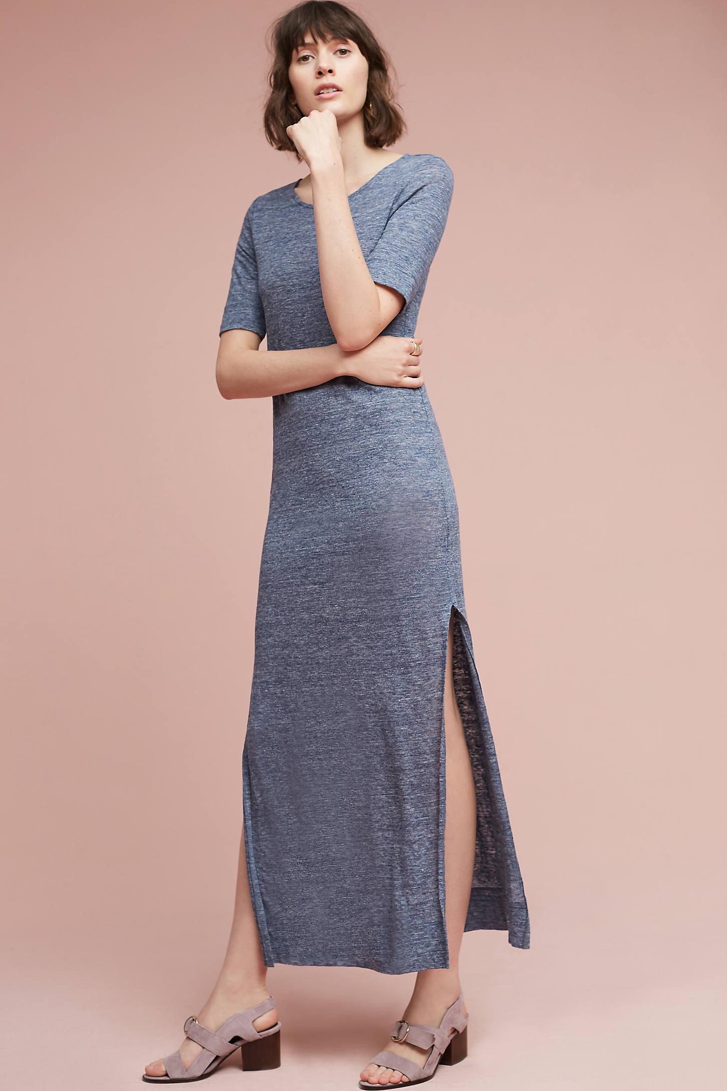 Benna Linen Maxi Dress