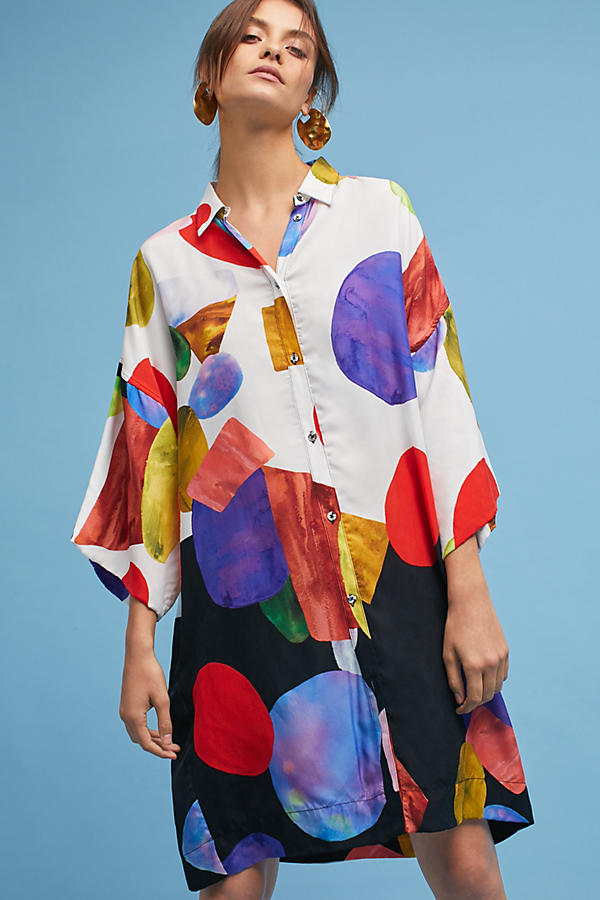 Mara Hoffman Phillis Gem Tunic Dress