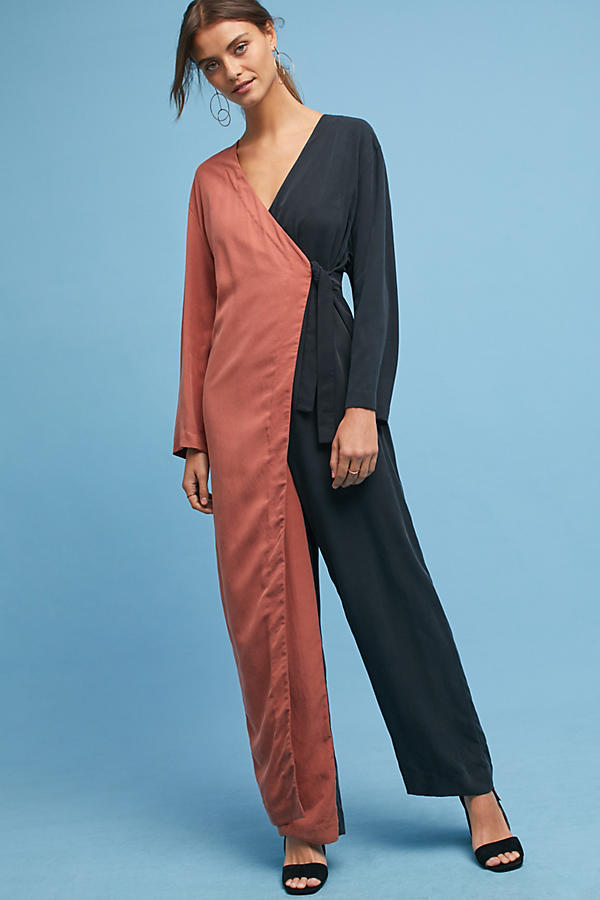 Mara Hoffman Colorblock Jumpsuit
