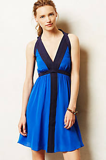 Lapis Halter Dress