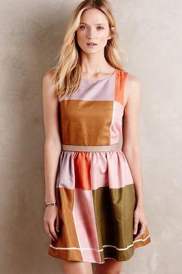Forestblock Dress