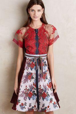 Winter Rose Dress