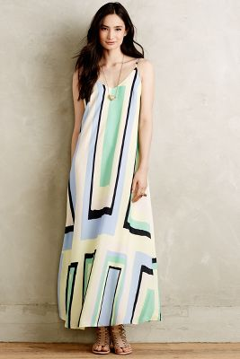 Abstracted Maxi Dress