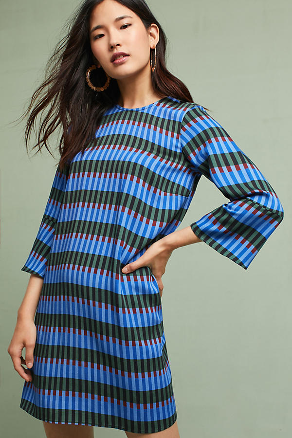 Dusen Dusen Flared-Sleeve Tunic Dress